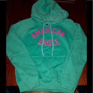 American Eagle graphic hoodie women's small